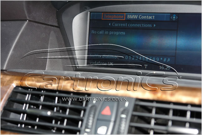 BMW no call in progress