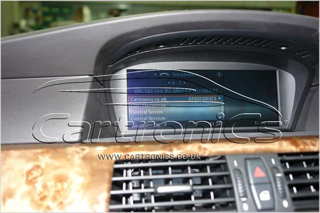 BMW phone book