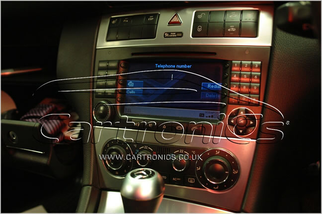 mObridge bluetooth in a Mercedes