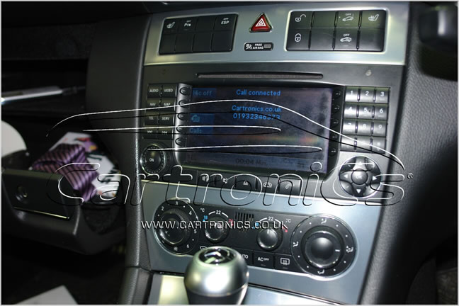 Mercedes Benz mObridge iPod and Bluetooth