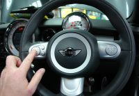 Mini steering wheel buttons also control mObridge