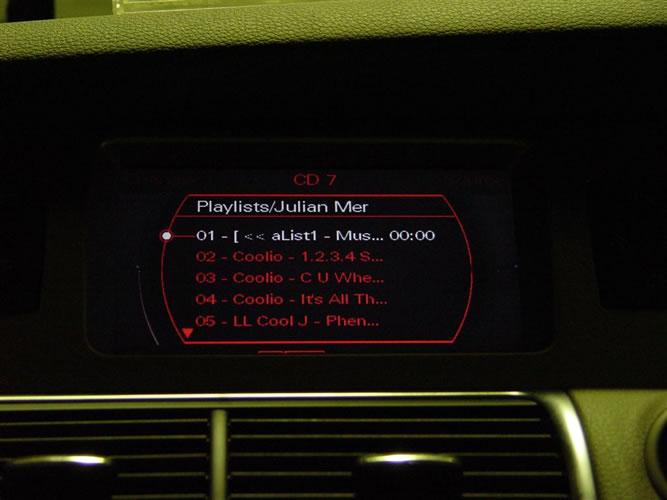 Audi sub directory