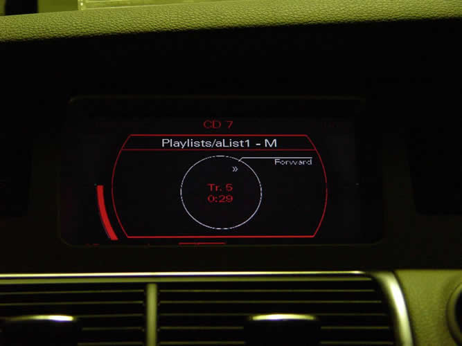Audi track control