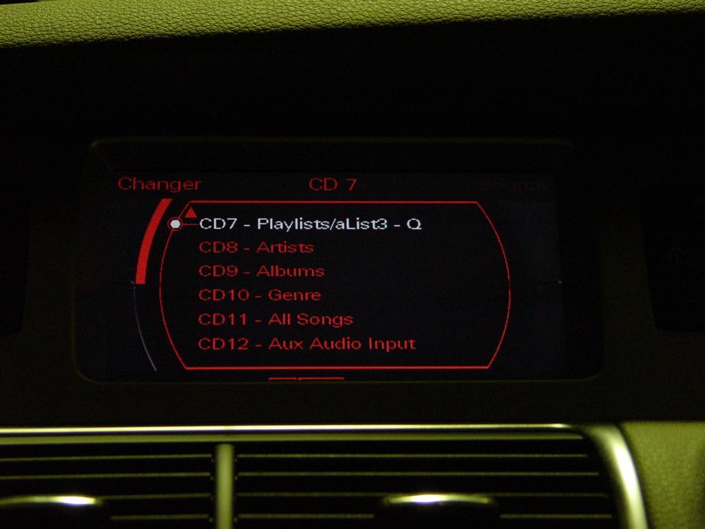 Audi virtual discs