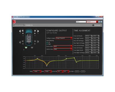Mobridge DA3 DSP screen shot image